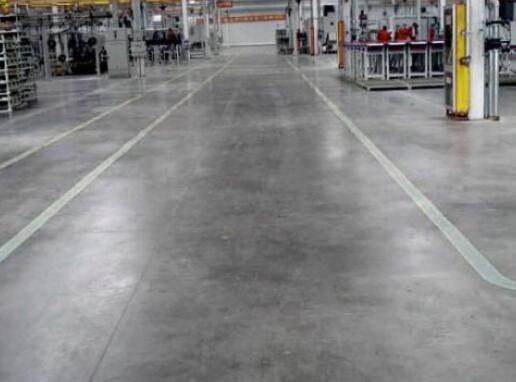 二汽室内工业地坪展示