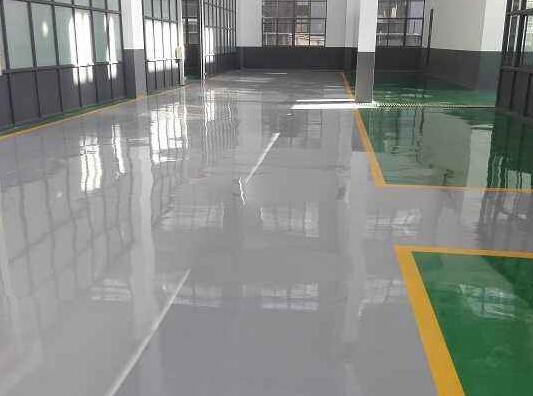 多色环氧树脂防滑地坪