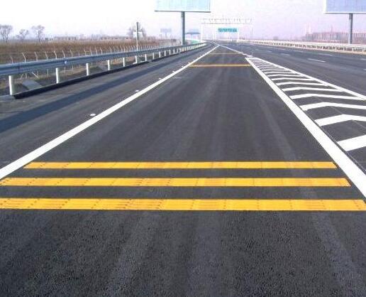 襄阳道路标线设计施工展示