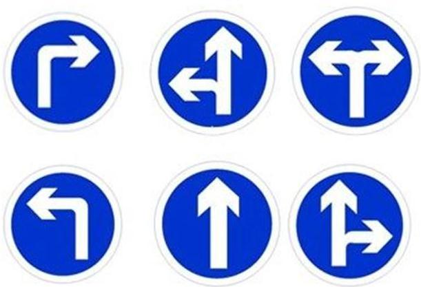 交通标识牌外观设计