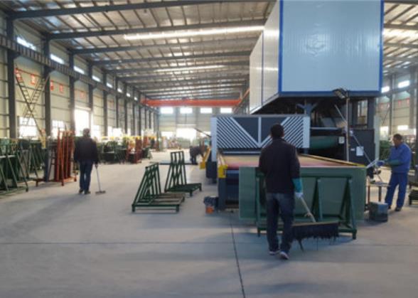 陝西中空玻璃廠家生產產區展示
