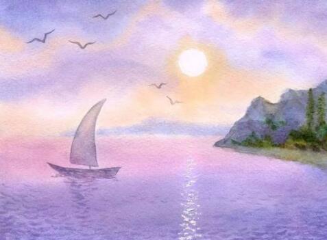 来看看水彩绘画的时候训练的技巧有哪些不同