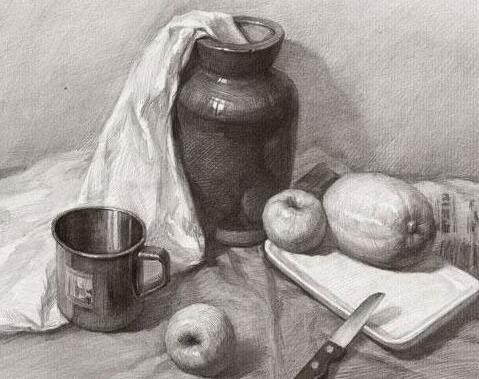 美术培训班对素描人物的训练课程是什么样子的?