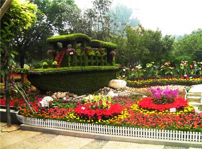 河南立体花坛设计