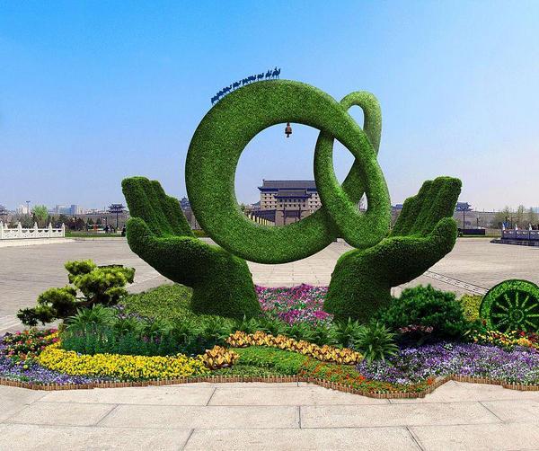 河南五色草造型设计广泛使用的原因介绍!