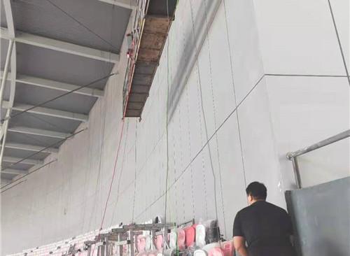 奥体中心 室内外墙维修