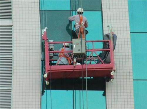 玻璃幕墙维修工作和保养步骤有哪些?嘉丰建筑机械告诉你