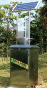 陜西太陽能殺蟲燈