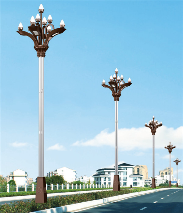 陕西传统路灯