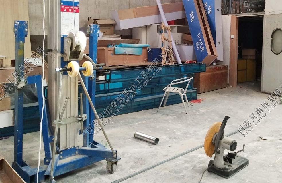 展览展厅制作设备