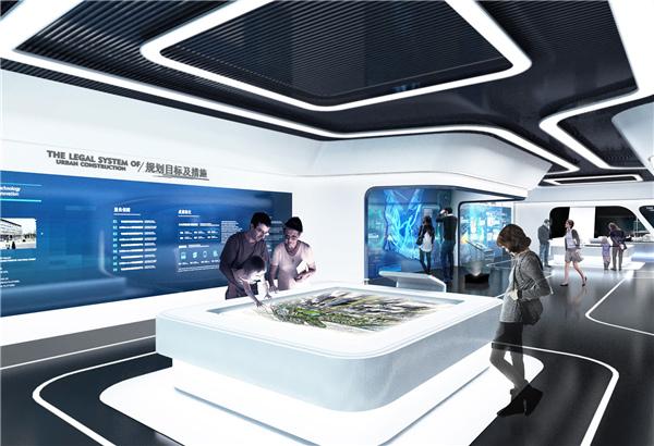 西安展览公司智慧城市展厅装修案例