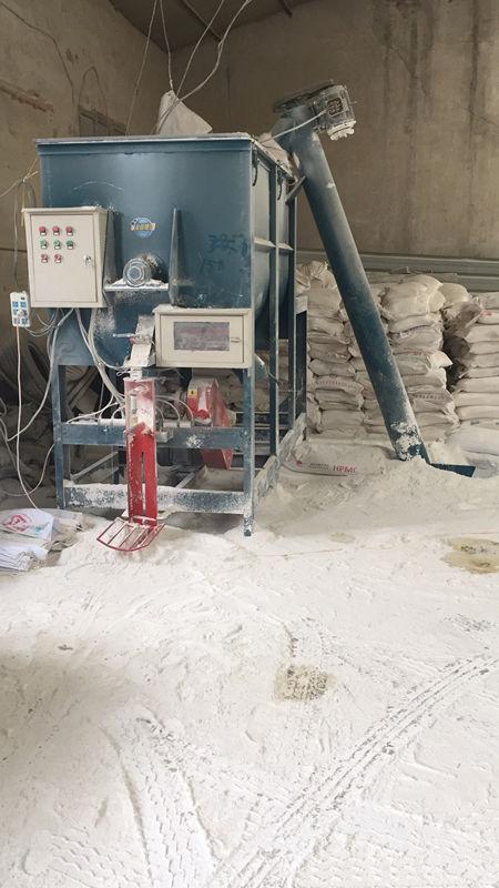 陕西瓷砖粘结剂厂房设备