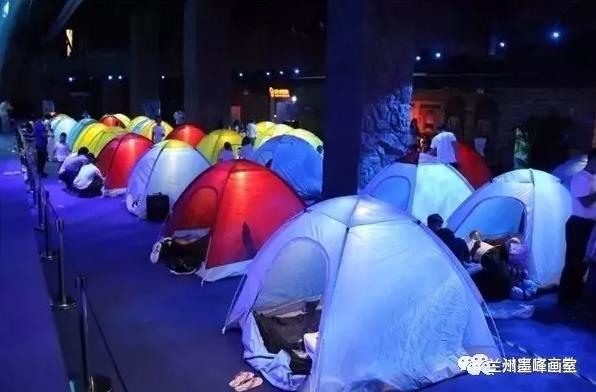 兰州墨峰美术培训海底世界写生夜宿之旅