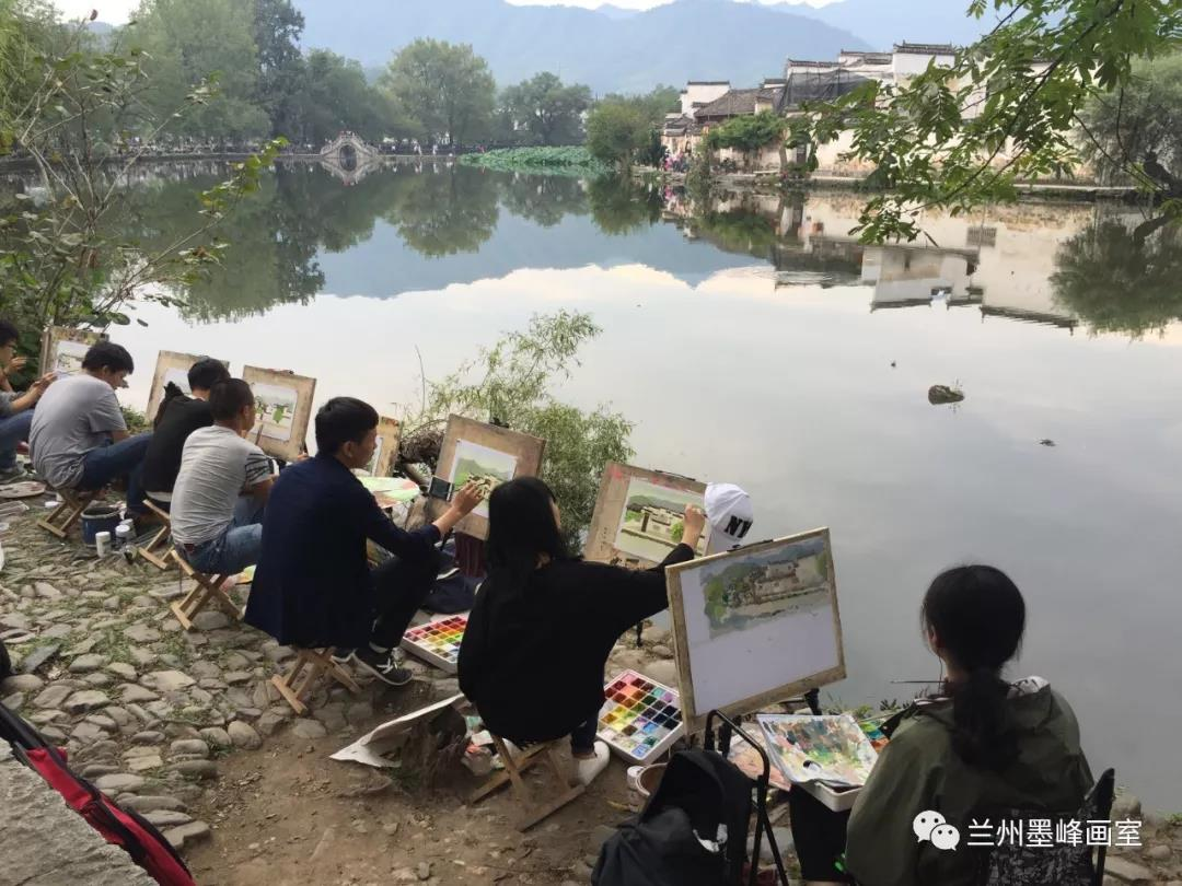 上海、杭州、黄山游学写生活动