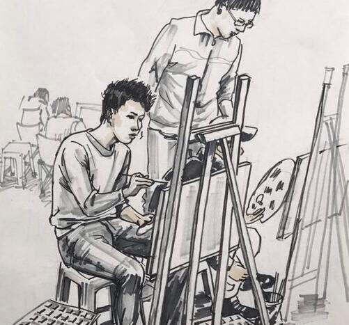 美术培训班里都经常用到的美术培训小技巧