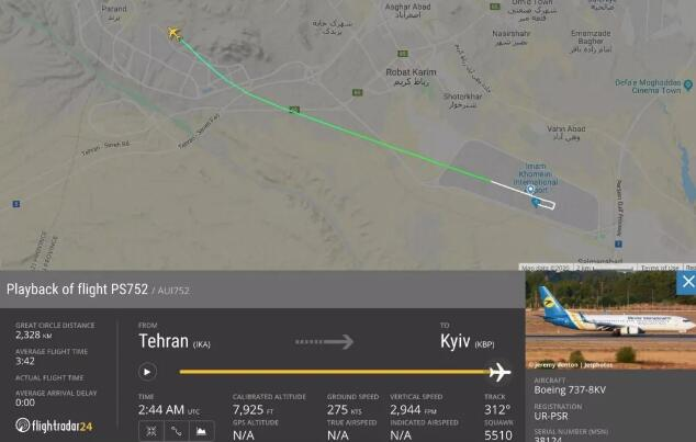 乌克兰更改坠机声明、机身疑似有弹孔,空难六大疑点浮现
