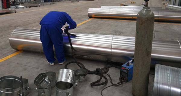 成都不锈钢焊接风管