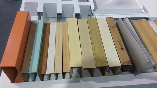 氟碳喷涂木纹铝单板的应用