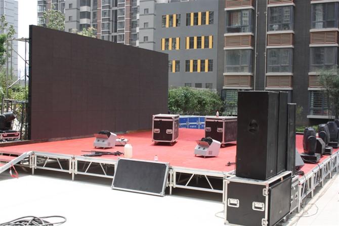 陝西活動舞台