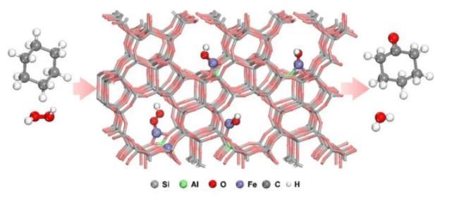 分子筛上金属落位控制取得新进展