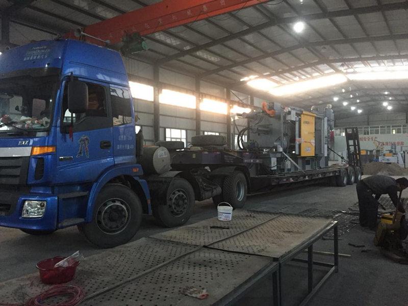 800T设备进厂