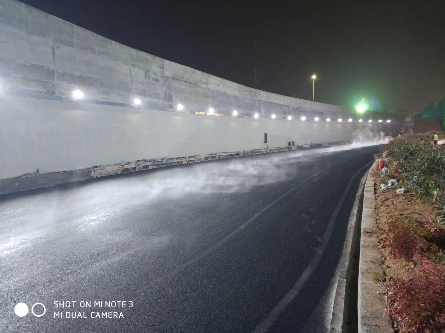 陕西公路施工-咸阳机场项目