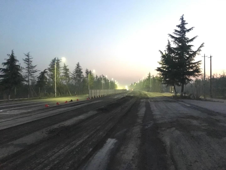 西沣路二级道路改造