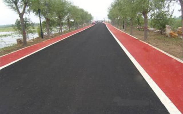 陕西彩色沥青厂家教大家养护彩色沥青路面的方法