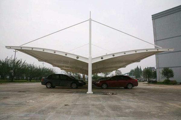 陕西膜结构车棚安装