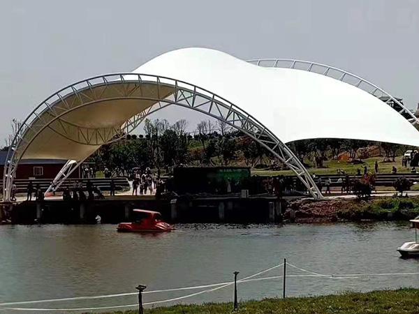公园膜结构看台