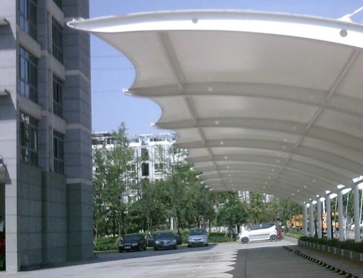 膜结构车棚工程