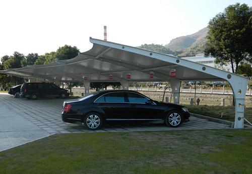 陕西工业园区膜结构车棚