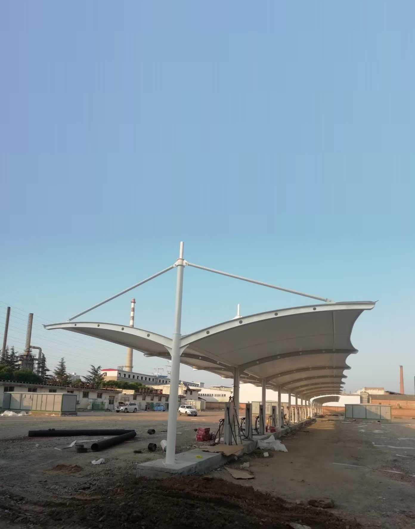 西安东方石化公交充电项目
