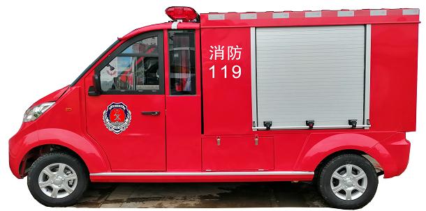 M100电动消防巡逻车