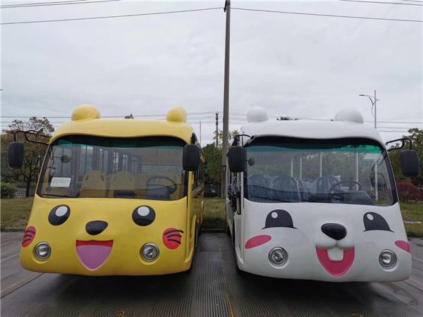 L100卡通图案观光车
