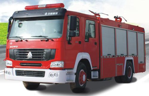 我国消防车的成长历程