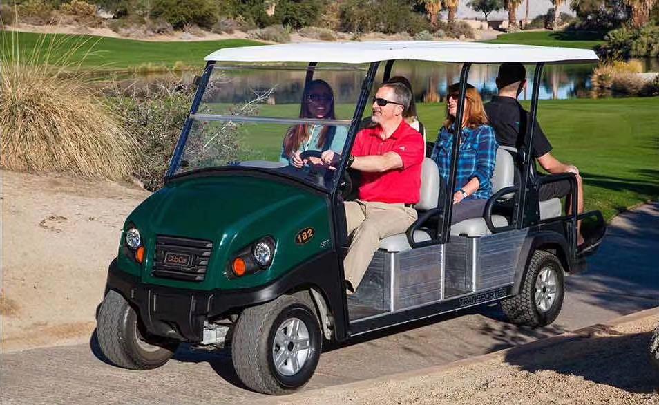 高尔夫款电动观光车