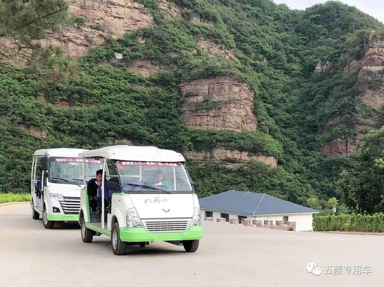 旅游景区观光车游览增加经营收入