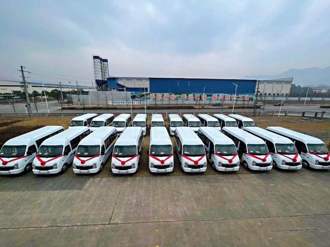 2021年五菱客车首批海外订单发车!