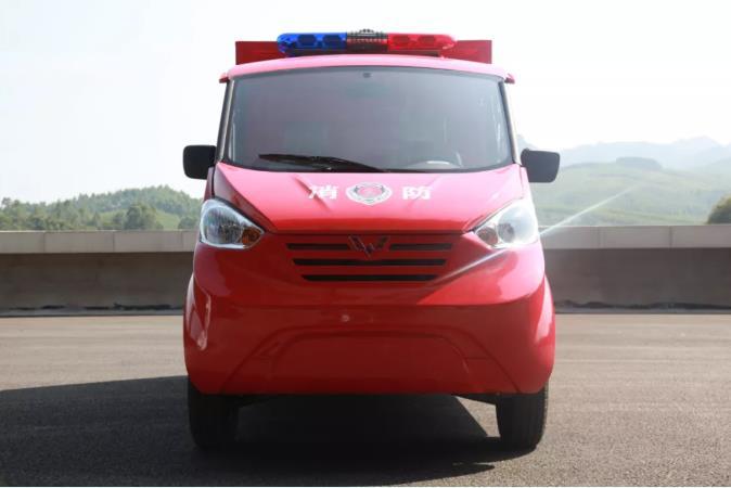 """五菱M100系列消防车   快乐暑假,一路""""童""""行 ~"""