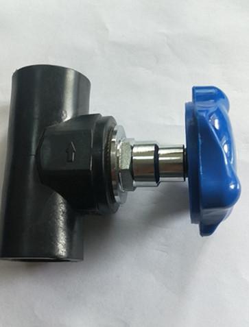 HDPE带丝管件