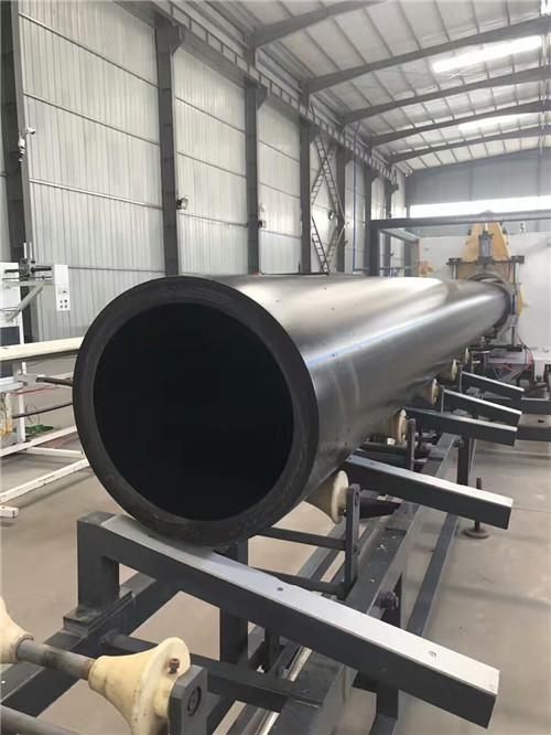 陕西HDPE给水管500x1.6MPa生产中