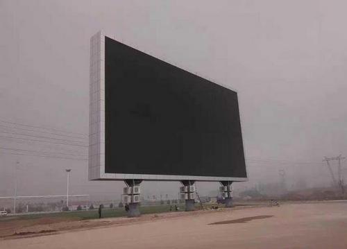 在對LED廣告屏進行安裝的時候需要注意哪些問題