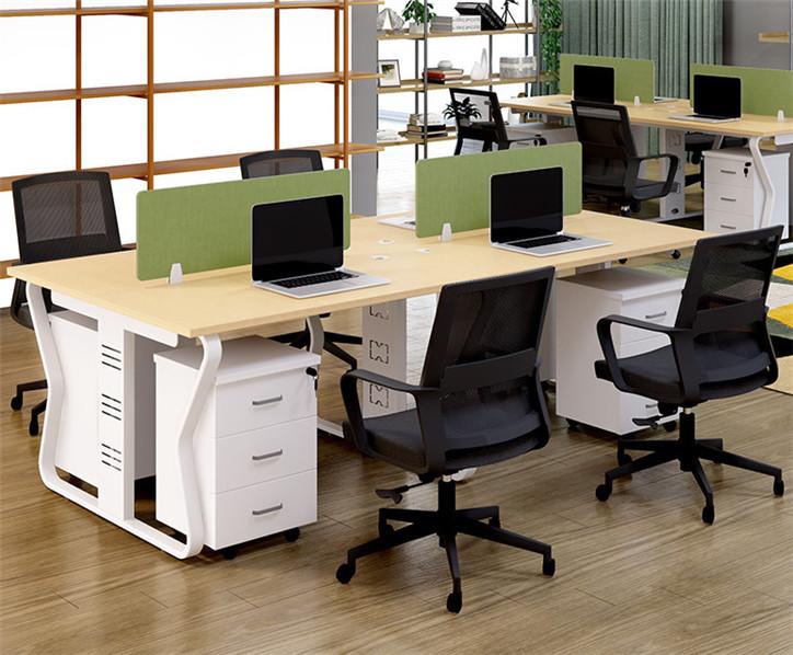 兰州办公家具_简约现代职员工作位办公桌_厂家可按需求定制