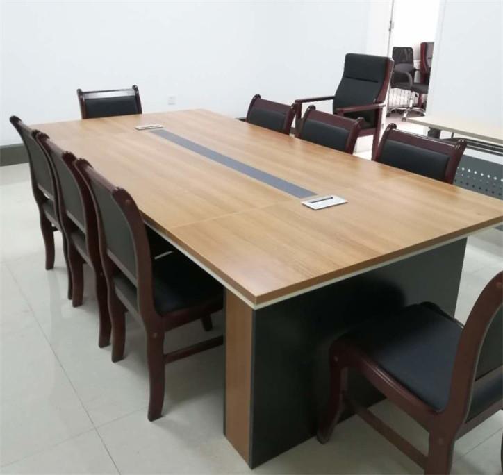 简约现代会议桌_桌洽谈桌椅组合