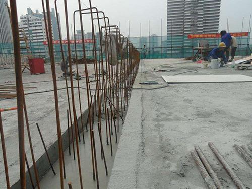 植筋加固工程施工