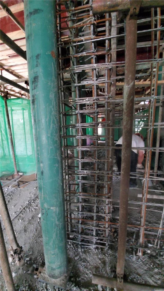 四川碳纤维加固建筑地下室竣工案例