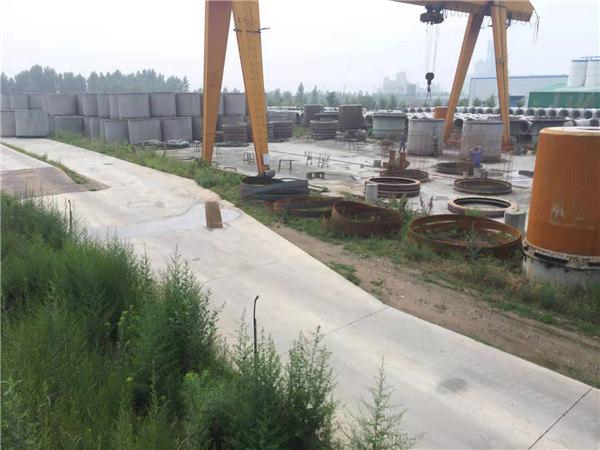 2018年为乾县县城总排水工程提供排水管