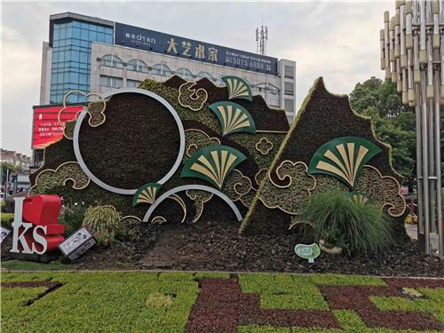 江苏五色草造型设计展示效果