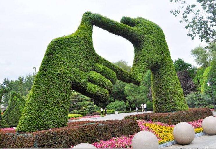 很多人见过立体动物雕像,其实它的制作流程来源于植物